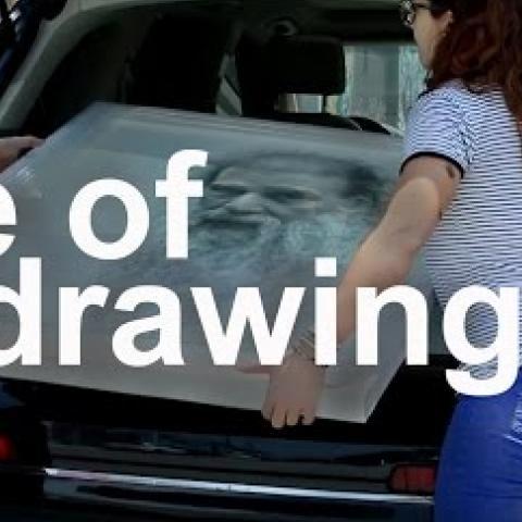 Life of a Drawing. Cesar Santos vlog 008