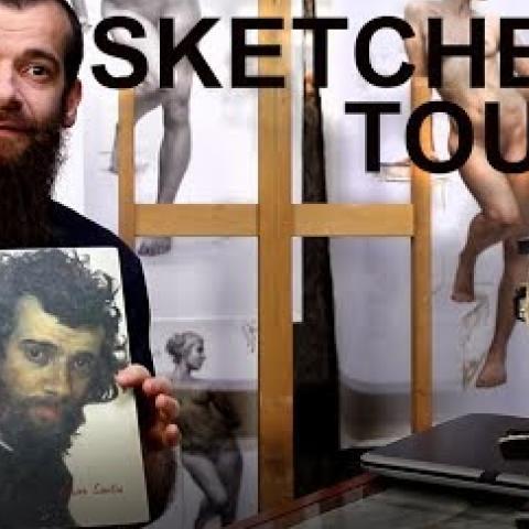 Sketchbook 001. Cesar Santos
