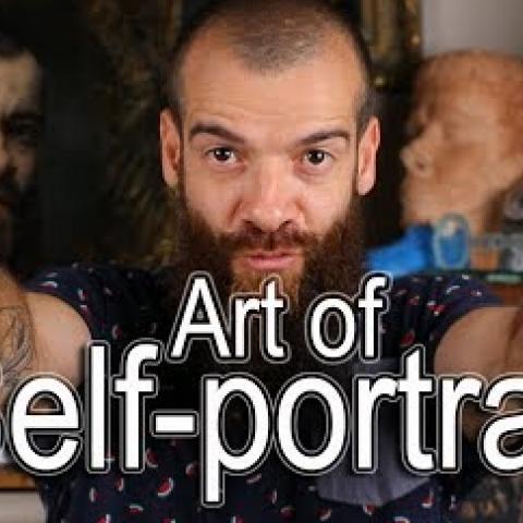 The Art of Self-portrait. Cesar Santos vlog 024